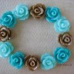 12pcs - Mini Rose Flower C..